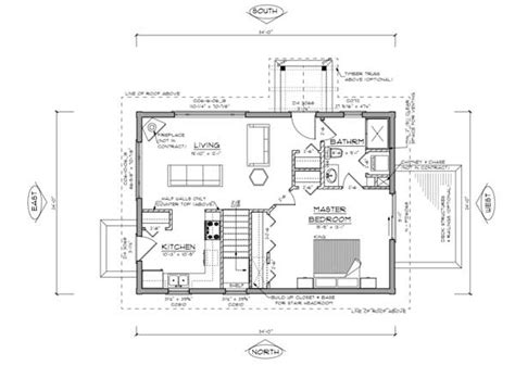 Tiny Cabin Floor Plans by True Log Homes Pictou