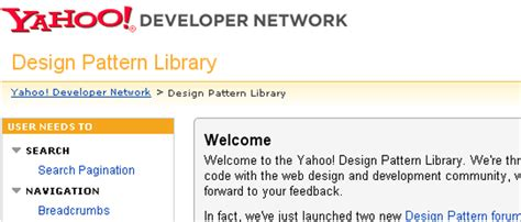 design pattern yahoo 10 most effective web development tool perception system