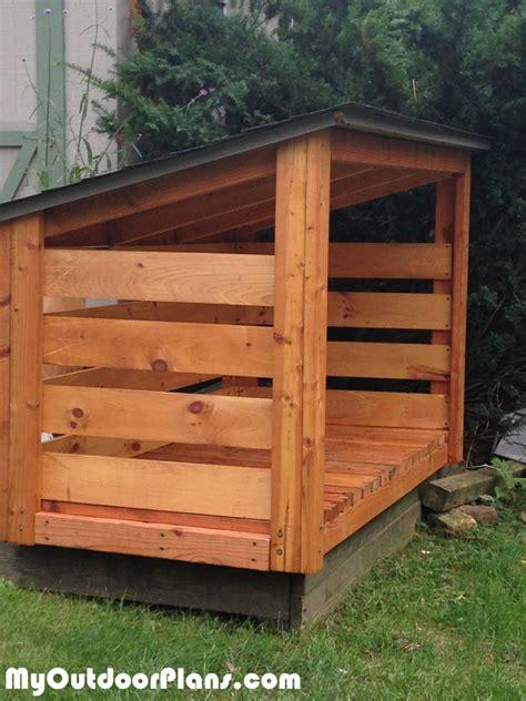 backyard wood shed plans myoutdoorplans