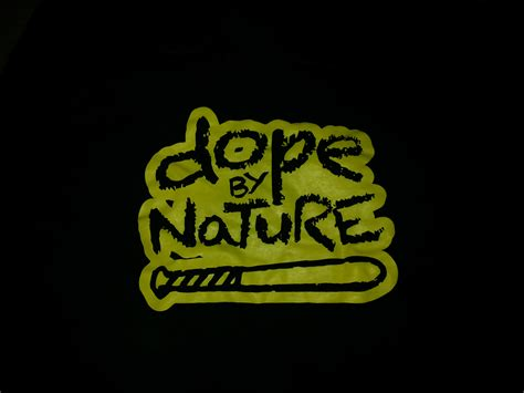 Hoodie Dope Large Print masonictee dope by nature black fleece pull