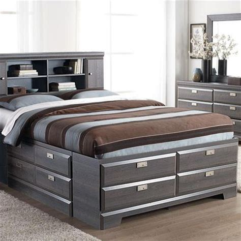 beds with headboards and storage 25 best ideas about storage beds on pinterest diy