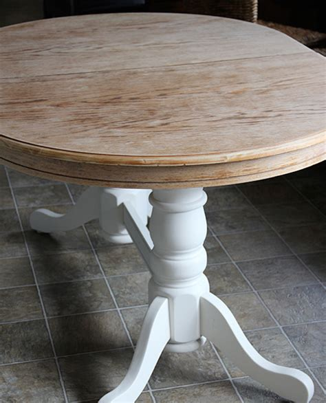 How To Stain A Dining Room Table Refinish A Dining Table Diy Style