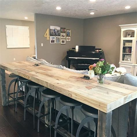 Rustic Wood Kitchen - best 25 bar tops ideas on pinterest bar top tables rustic bars and basement bars