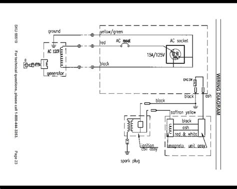 generator wiring diagram and electrical schematics where ca i find a diagram for a 2hp chicago electric