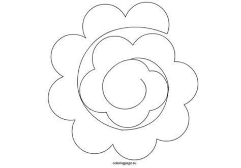 wonderful 3d paper flower template contemporary resume