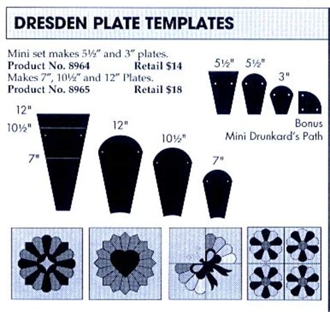 free printable dresden plate template unifix cube template