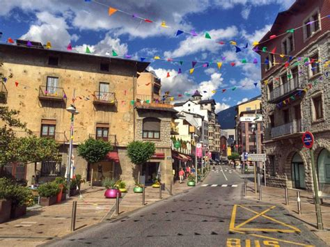 lovely andorra la vella   pyrenees