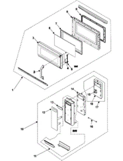 Elemen Microwave parts for samsung smh7178ste microwave