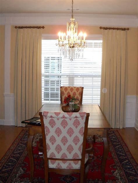 window treatments for dining room window treatments contemporary dining room atlanta