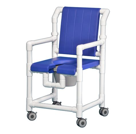 Commode Shower Chair by Rolling Open Front Deluxe Shower Chair Commode Scc700 B Ebay