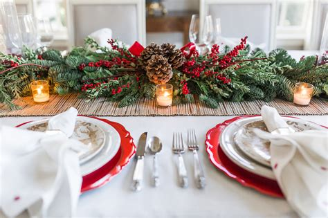 elegant christmas table christmas pinterest elegant christmas tablescape setting the perfect