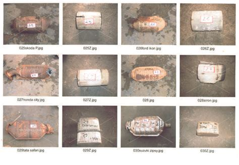 scrap catalytic converter price list used catalytic converter global