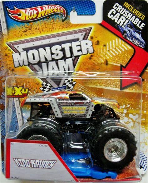 matchbox monster jam maximum destruction wheels monster jam 2013 package