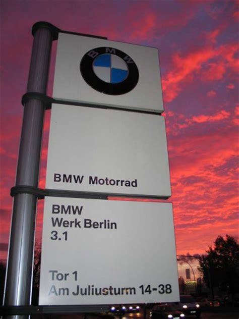 Bmw Motorrad Berlin Adresse by Bmw Werk Berlin