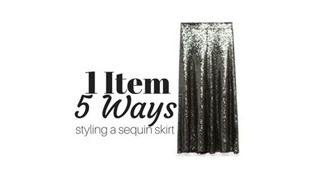 5 Ways To Go Skirting Around Fabulously by How To Style A Sequin Skirt In 5 Fabulous Ways Jk Style