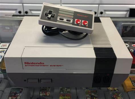 nintendo nes console original nintendo nes console system refurbished