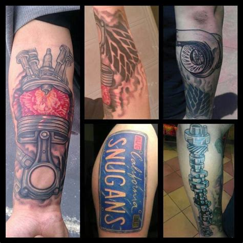 car guy tattoos 57 best images about new on