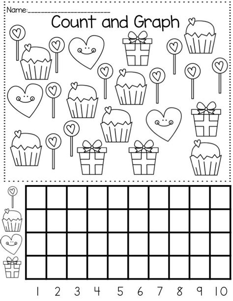 printable picture graphs kindergarten graph worksheet for kids crafts and worksheets for