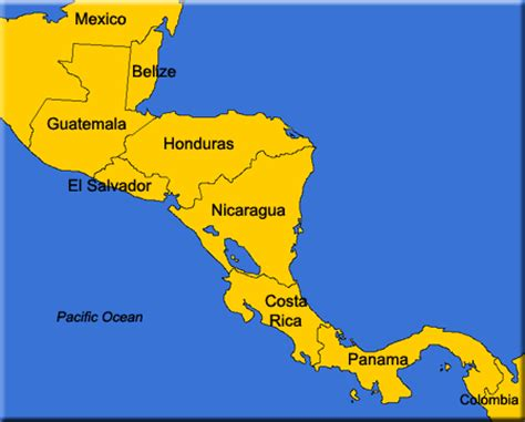 map of central american countries live central american radio radio from central america