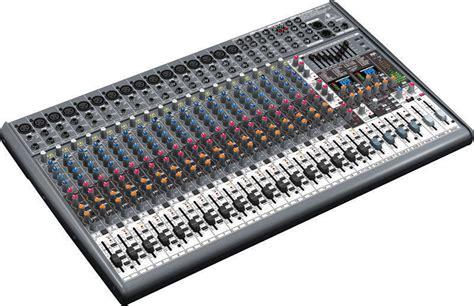 Mixer Behringer Eurodesk Sx2442fx Pro behringer sx2442fx eurodesk 24 input mixer