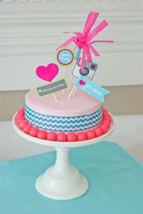 instagram design cake tween teen quot insta party quot instragram birthday party