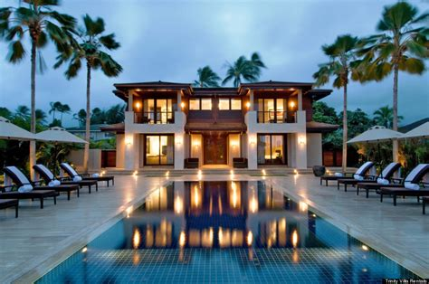hawaiian vacation homes obama s hawaii vacation home and the luxury rentals of