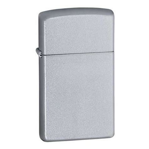 chrome zippo zippo slim satin chrome 1605