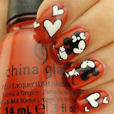 nail art kiss tutorial fantabulous kiss nail art must for valentine s day