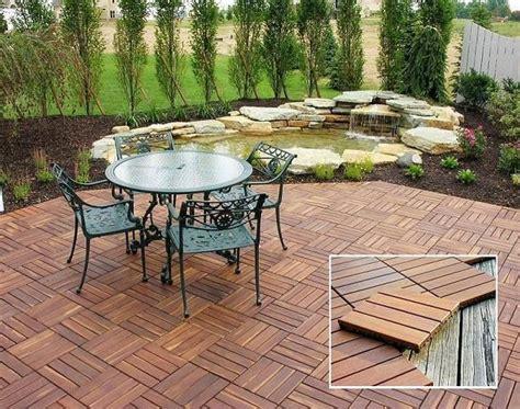 Backyard Flooring Options by Tipo De Pisos Para Terrazas