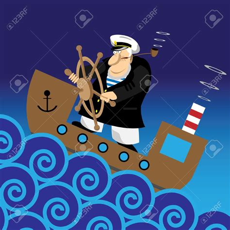 boat captain graphics sailor clipart captain ship pencil and in color sailor