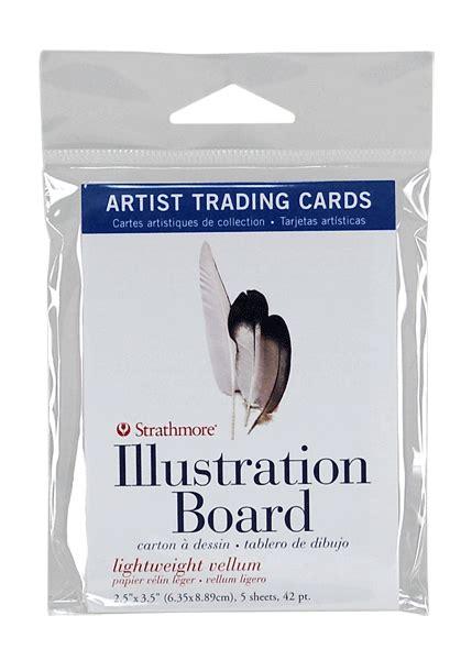 strathmore card templates strathmore artist trading card pack of 5 illustration