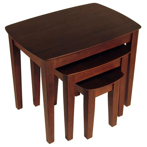 nesting tables winsome 3pc nesting table by oj commerce 94327 158 99