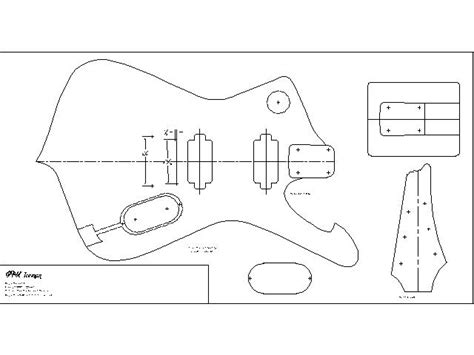 guitar design template small acoustic guitar plans here woodblog