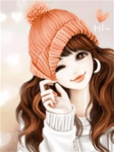 gambar kartun korea lucu imut dan cantik animasi