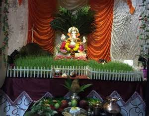Decoration At Home by Ganpati Decoration Ideas At Home Pooja Room Decoration