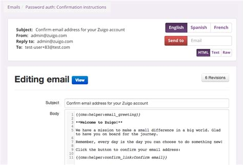 Cms Type App For Creating Html Emails Rails Email Template