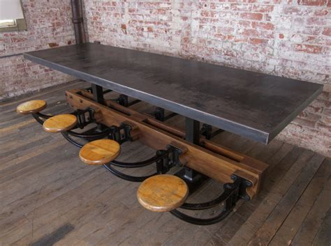 metal table top wants desires metal top table a continuous lean