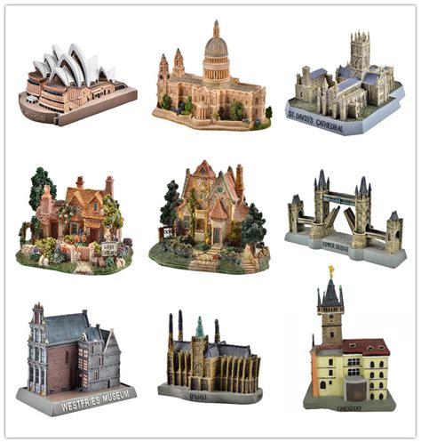 Souvenirs Pajangan Replika Dari Inggris kustom 3d model bangunan polyresin souvenir bangunan model