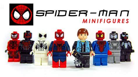 Lego Minifigure Two Bootleg the amazing spider lego knockoff minifigures set 1 w venom carnage
