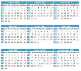 Calendario 2018 La Nacion Calendario Laboral 2017 Archives Calendario 2017