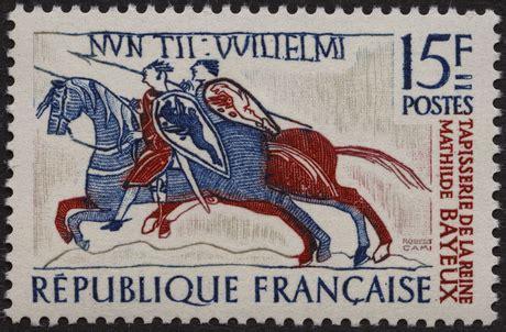 Tapisserie Reine Mathilde by La Poste