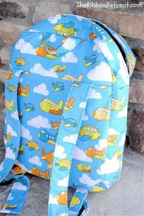 kindergarten backpack pattern toddler backpack tutorial the ribbon retreat blog