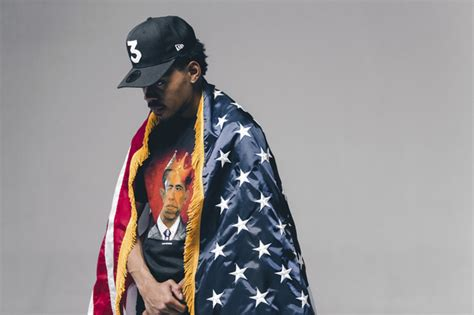 american themed clothing uk chance the rapper models thank you obama clothing line