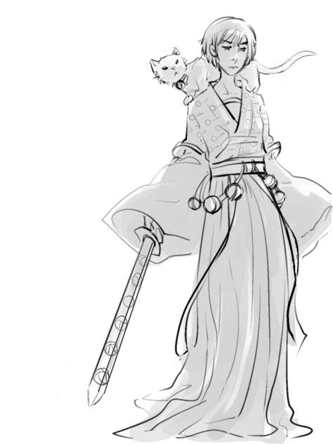 North of the Wall — hopperbot: doodled hanfu sabriel to go
