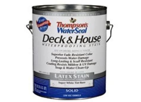 thompsons waterseal deck house solid latex wood stain