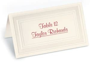 printing your own wedding place cards do weddings right print your own place cards paperdirect