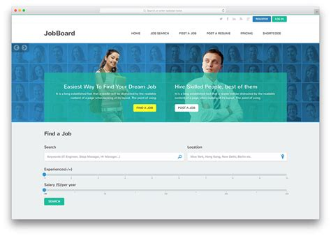 html themes for job portal top 12 html5 job board websites templates 2018 colorlib