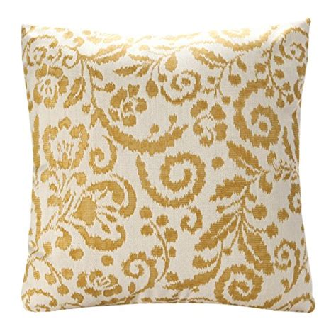 Buy Sofa Cushion Covers by Simpledecor Jacquard Floral Pattern Throw Pillow Cushion
