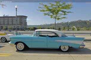 The images shown are representations of the 1957 chevrolet bel air