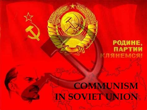 Communist Of The Soviet Union Also Search For Communism In Ussr And China In Comparison